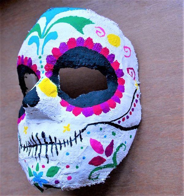 skeletmaske
