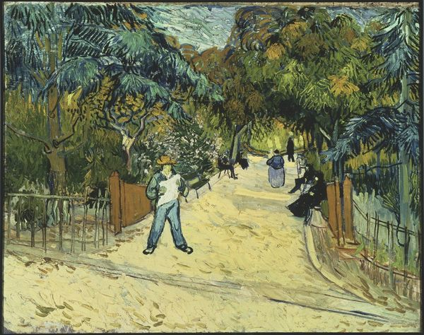 Entrance to the Public Gardens in Arles  1888  Gogh  Vincent van  Credit  The Phillips Collection  Washington  D C   aUSAAcquired 1930 Bridgeman Images  PCW 438937 01